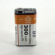 dobíjecí baterie 300mAh 9V