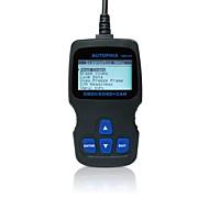 autophix® diagnosztikai eszköz OBD OBD2 EOBD OBDII szkenner kódolvasó om123 - fekete