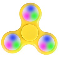 LED Fidget Spinner Toy Made of Titanium Alloy Ceramic Bearing Spinning Time High-Speed EDC Focus Toy