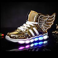 Jungen-Sneaker-Outddor Lässig Sportlich-Kunststoff-Flacher Absatz-Light Up Schuhe-