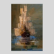 Oil Paintings  Abstract Style Canvas Material With Wooden Stretcher Ready To Hang Size60*90CM and 50*70CM .