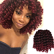 Pre-loop Virkkaa punokset Deep Twist Havana Virkkaus Kihara Bouncy Curl Jamaikan Bounce Hair KiinaKullanruskea Black / Mansikka Blonde