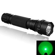 Lanternas LED LED 500 Lumens 1 Modo LED 18650.0 16340 CR123A Luzes Superfície Antiderrapante Super LeveCampismo / Escursão /