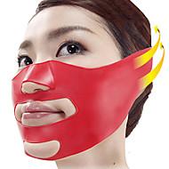 シリコンvの顔スリムな頬のリフト薄いマッサージマスクの顔スリムな輪郭シェイパーアンチサグベルト