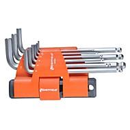 Ocelový štít 9 v 1 multifunkční prodlužovací šestihranný klíč / 1 sada