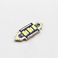 4x-new-2017-füzérdíszítés-36mm-3-SMD-5730-cnabus-fehér LED-car-kupola fény lámpa izzók-3021-6428-de3175 12v