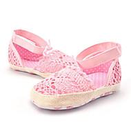 Lapset Sandaalit Personoidut materiaalit Kesä Reikäkuvio Kukkakuvio Tasapohja Valkoinen Pinkki Tasapohja
