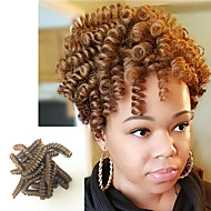 Brillant & Séduisant Style européen Mariage Européen Tresses bouclés Extensions de cheveux Kanekalon Cheveux Tressée