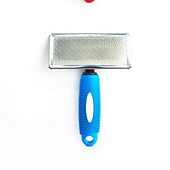 Cat Dog Grooming Brush Grooming Kits Comb Baths Portable Blue Red