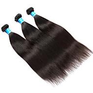 人間の髪編む ベトナミーズヘア 焼き 12ヶ月 3個 ヘア織り