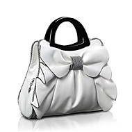 Women Shoulder Bag PU All Seasons Round Zipper White