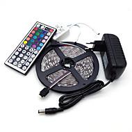 조명 세트 lm AC 100-240 V 5 m 300 LED가 RGB