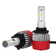 9006 36w / 2pcs LEDヘッドライトキット球根チップ3600lm philips led車のヘッドライト電球変換キット9v-32vハロゲンまたはhid電球の代わりに6500 k 12 v