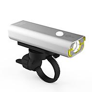 Luz Frontal para Bicicleta LED LED Ciclismo Prova-de-Água Recarregável Tamanho Pequeno Super Leve 400 Lumens USB Branco FrioCiclismo