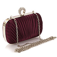 Women Evening Bag Polyester All Seasons Formal Casual Event/Party Wedding Professioanl Use Minaudiere Clasp LockAmethyst Beige Handbag Clutch More