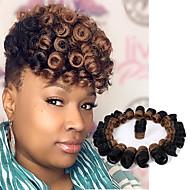 Brillant & Séduisant Style européen Mariage Européen Pré-boucle Tresses crochet Extensions de cheveux Kanekalon Cheveux Tressée