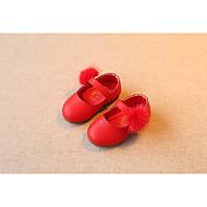 女の子 サンダル 赤ちゃん用靴 本革 春 秋 カジュアル ウォーキング 赤ちゃん用靴 面ファスナー ローヒール レッド フラット