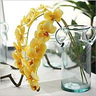 2 분기 리얼 터치 난초 테이블  플라워 인공 꽃