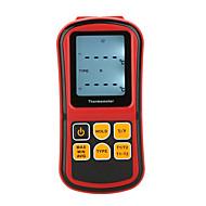 gm1312デジタル温度計デュアルチャネル温度計テスター、熱電対の液晶バックライト付き