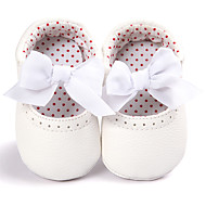 Girl's Loafers Slip-Ons Comfort Flower Girl Shoes Espadrilles First Walkers Comfort Flats Crib Shoes Light Soles Spring/Fall Wedding Casual Outdoor