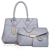 Ženska torba postavlja drugu vrstu kože svih sezona casual ljuske cvjetni zatvarač bež crna zlatna plava