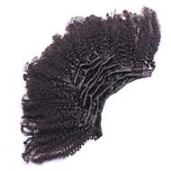 클립 인 인간의 머리카락 확장 머리 확장