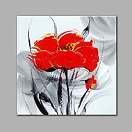 Kézzel festett Virágos / BotanikusKortárs Egy elem Hang festett olajfestmény For lakberendezési