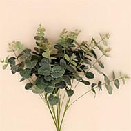 1 Pièce 1 Une succursale Soie Plantes Fleur de Table Fleurs artificielles