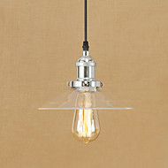 Pendant Light   Vintage Retro Electroplated Feature for Mini Style Designers Metal Living Room Dining Room Study Room/Office Entry Hallway