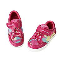 女の子 フラット 赤ちゃん用靴 チュール 春 秋 日常 ウォーキング 赤ちゃん用靴 面ファスナー ローヒール ピーチ ライトピンク フラット