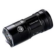 Nitecore® TM06S פנס LED LED 4000 Lumens 5 מצב Cree 18650 Dimmable ניתן לטעינה מחדש גודל קומפקטי מחנאות/צעידות/טיולי מערות שימוש יומיומי חוץסגסוגת