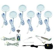 RVB Lumière décorative LED Style mini 6 pièces