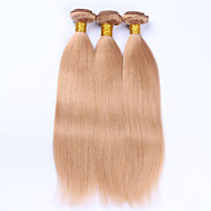 Beata Hair #27 Honey Blonde Body Wave Brazilian Human Hair Weave Bundles No Remy Human Hair Extension Weave