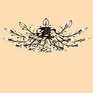 Lightmyself 18 luzes antique bronze moderno cristal teto lâmpada dentro luzes para sala de estar quarto sala de jantar