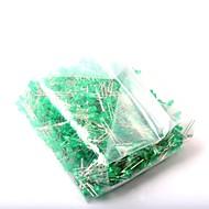 led発光ダイオード3mm緑色の光(1000pcs)