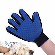 犬 グルーミングキット ヘルスケア クリーニング グルーミングキット ブラシ バス 防水 携帯用 折り畳み式 グリーン ブルー ピンク