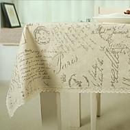 Muuta Painettu Table Cloths , Cotton Blend materiaali 1