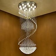 Moderní led krystalový stropní závěs světlý interiér lustry domů závěsné svítidla svítidla svítidla s 5w vedly teplé bílé žárovky