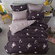 動物 4個 ポリ/コットン 反応染料 ポリ/コットン ツインサイズの場合、枕カバーが1枚しか含まれていません.
