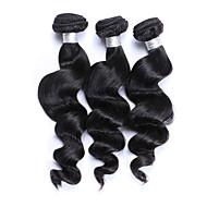 Υφάνσεις ανθρώπινα μαλλιών Βραζιλιάνικη Χαλαρό Κυματιστό Περισσότερο από 1 Χρόνο 3 υφαίνει τα μαλλιά