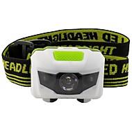 פנסי ראש LED 500 Lumens 3 מצב LED AAA אור LED קל לנשיאה חירום קל במיוחד חסין לאבק קל משקלמחנאות/צעידות/טיולי מערות שימוש יומיומי רכיבה על