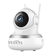 VESKYS® 2.0MP 1080P HD Wifi Security Surveillance IP Camera Cloud Storage Two Way Audio Remote Monitor