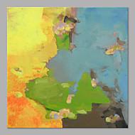 El-Boyalı Soyut Soyut Tek Panelli Kanvas Hang-Boyalı Yağlıboya Resim For Ev dekorasyonu