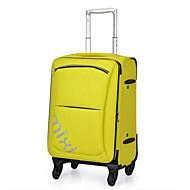 Ženska putna torba poliester svih sezona casual otvoreni pravokutni zatvarač žuto zelena plava