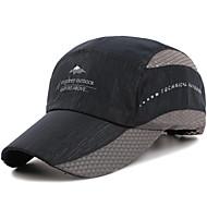 キャップ バイザー 帽子 男女兼用 調整可能/引き込み式 サイズが調整できます。 カジュアル/普段着 のために ランニング ロードバイク レジャースポーツ キャンピング 山登り