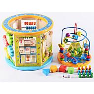 משחק לוח בית משחק צעצועים למבוגרים עץ