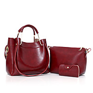 Nő pu casual outdoor tote