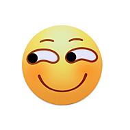 Mr.vivi sneaky glimlach expressie muisstootkussen ronde lach muisstootkussen set 20 * 20cm