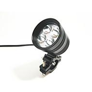 Motorcykel spotlight udvendigt lys vandtæt lys 4 perle lampe