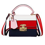 Ženska modna torba s križnim torbicama crvena